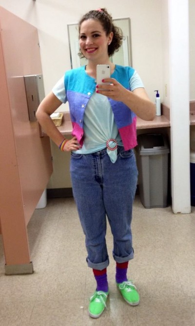 Mom jeans for the win!